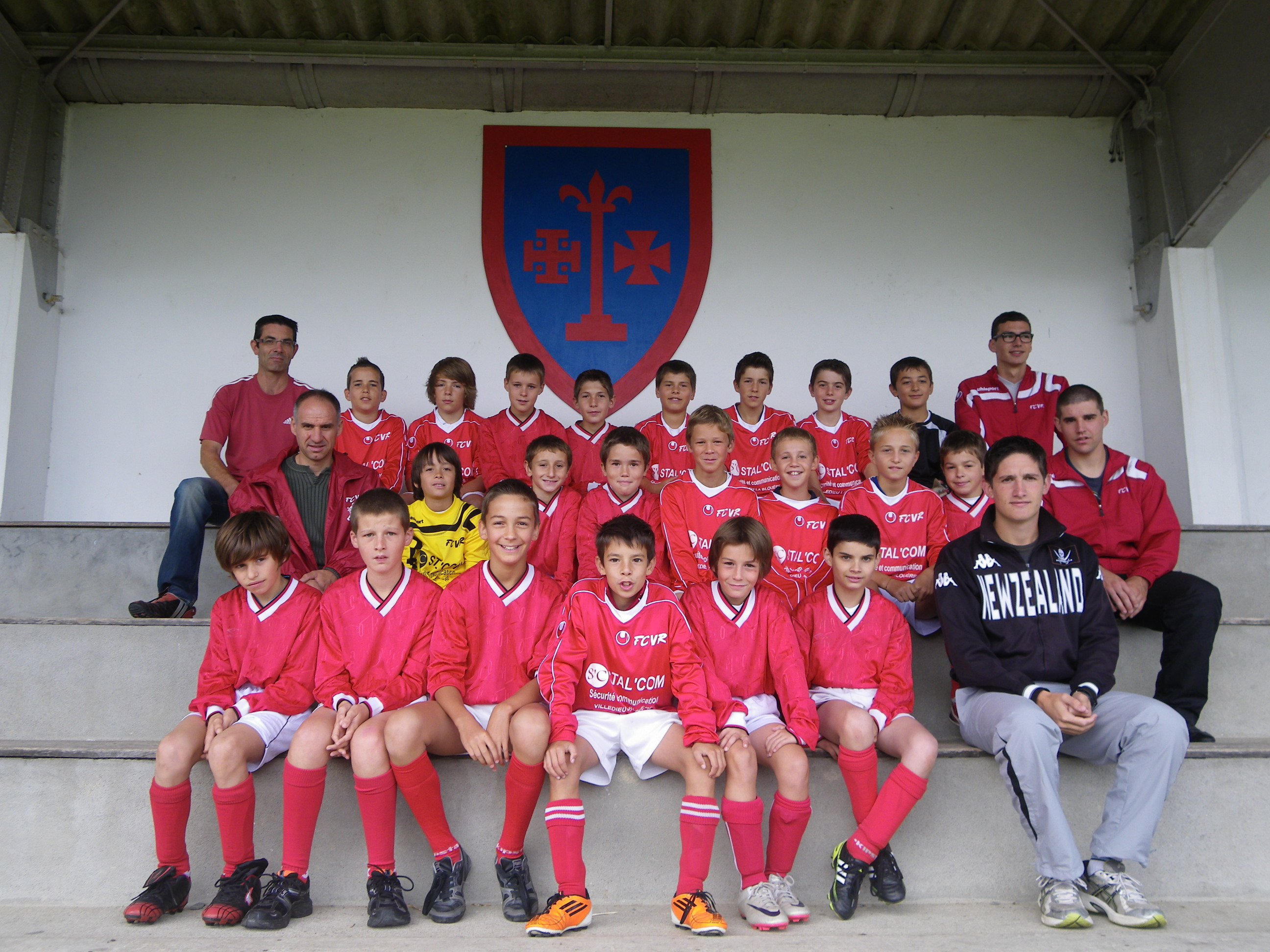 equipe 2011 2012 benjamins