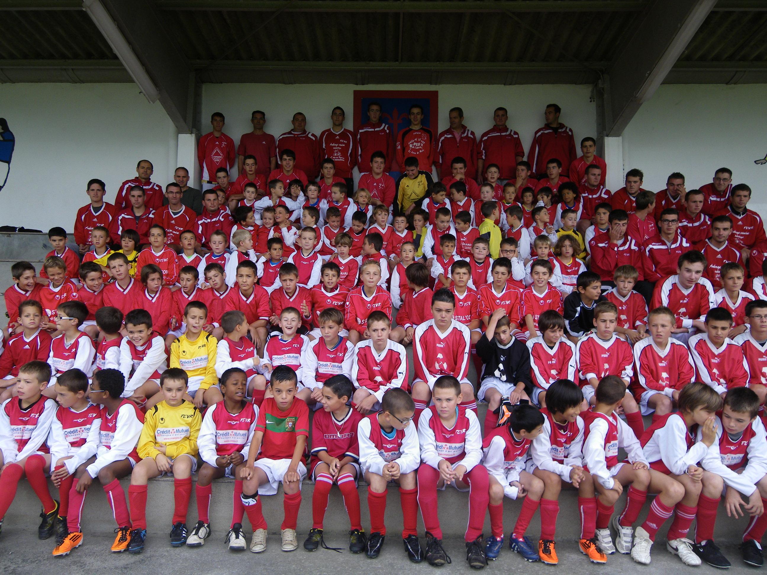 equipe 2011 2012  groupe fcvr