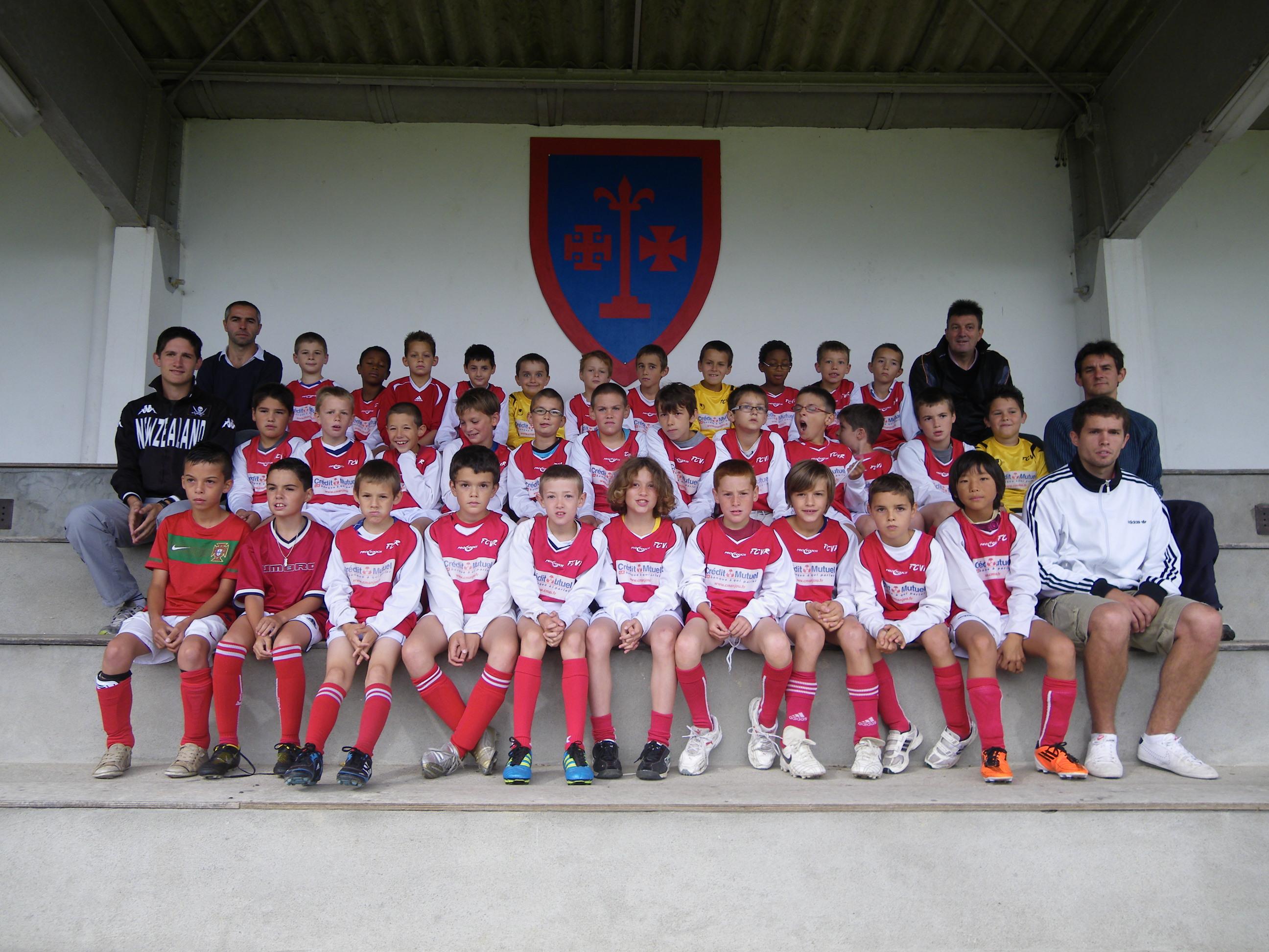 equipe 2011 2012 poussins
