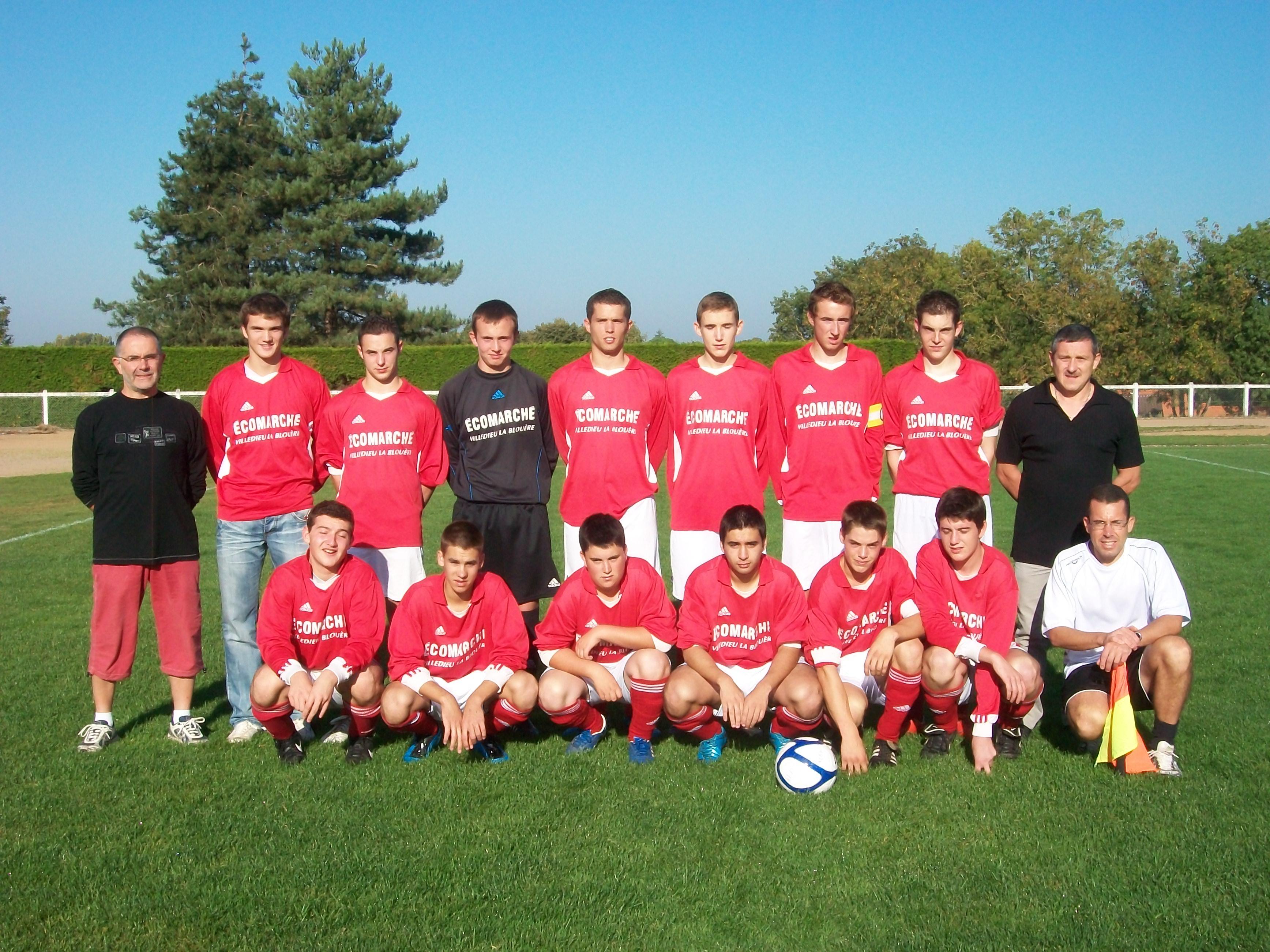 equipe 2011 2012  u19 entente avec fief geste