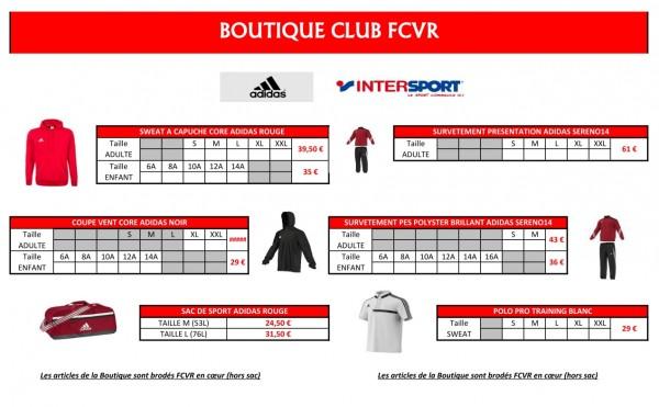 Vêtements FCVR