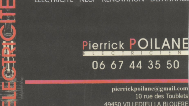 Pierrick Poilane Electricite